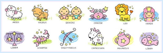 Symbol-Zodiac_CuteCartoon-English